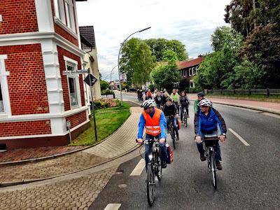 Radfahrer in Osterholz-Scharmbeck