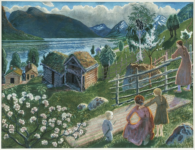 Nikolai Astrup - Good Growing Weather at Sandalstrand
