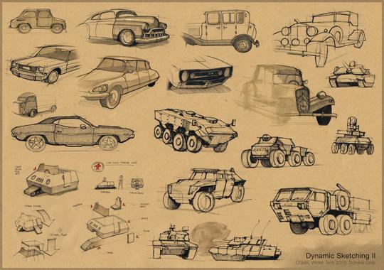 Dynamic Sketching 2