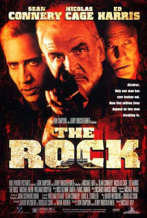 Poster Of The Rock (1996) Full Movie Hindi Dubbed Free Download Watch Online At Alldownloads4u.Com
