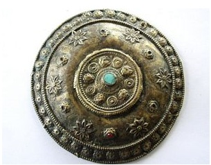 Afghani Tribal Brass Amulet