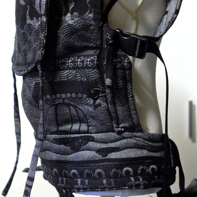 Pellicano Baby Darkkar Sage Mork Wrapconversion SSC - MamaMerel