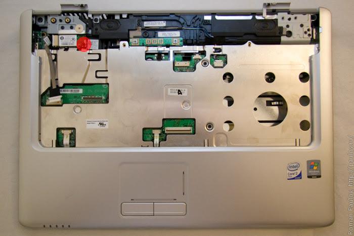 Как разобрать ноутбук Dell Inspiron 1525 21