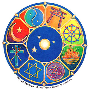 Natural Selections One WorldOne Godand The Same Sheet Of - List of major world religions