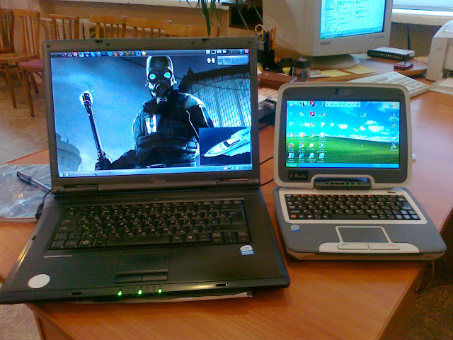 1to1 netbook and Esprimo v5535