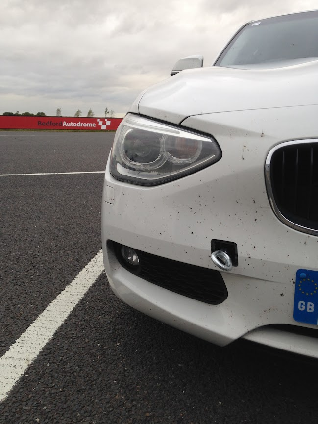 Bedford in a BMW 116d Evo Track Evening