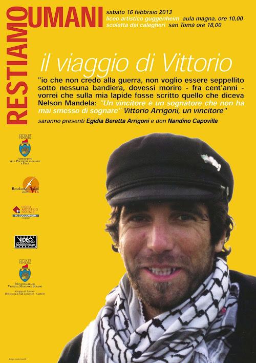 Manifesto de Il viaggio di Vittorio - Venezia
