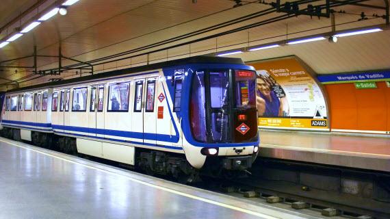 Mejora de la climatización de los trenes de la línea 5 de Metro
