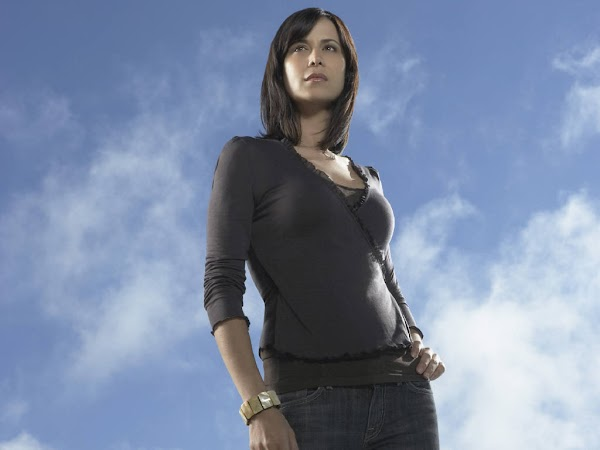 Catherine Bell Black dress:wallpaper,dress for girls,fun girls0