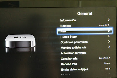 Apple TV Red