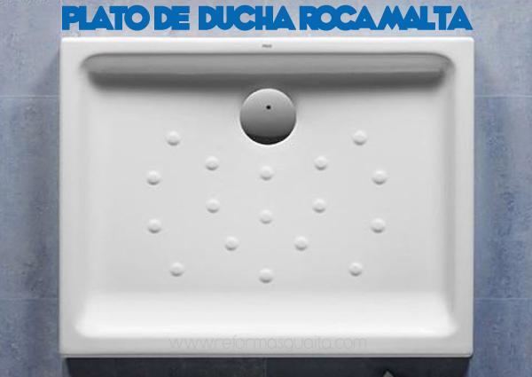 Cambie su ba era por una ducha por reformas guaita for Plato ducha malta
