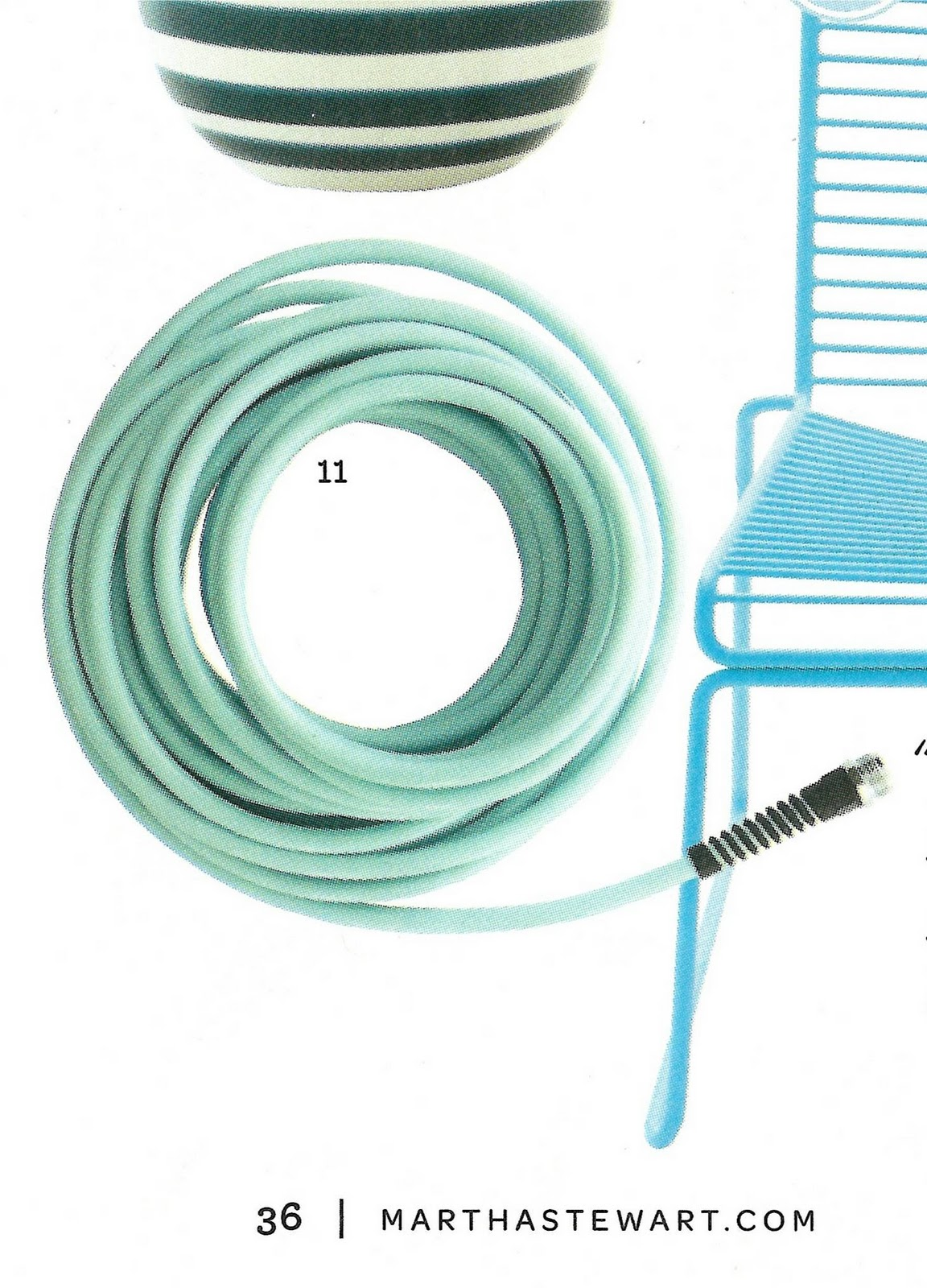 Great My Heart Pitter Pattered Over A Hose In The April Issue Of Martha Stewart  Living. Yes, You Read Right. A Hose. As In Garden Hose. The Color Is Called  Sunken ...