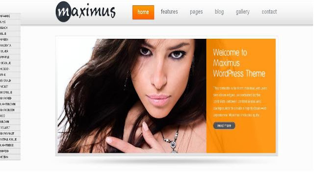 Maximus WordPress Theme