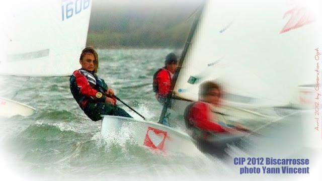 CIP 2012 Biscarrosse Championnat d'europe optimist Lignano Sabbiadoro ITALIE