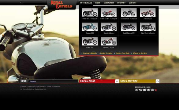 2011 Royal Enfield Lineup