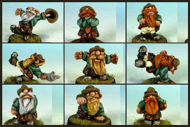 Impact Scotlings/Halflings Blood bowl