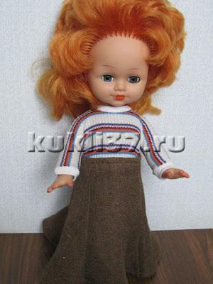 юбочка для куклы 8-клинка