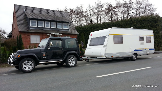Wonderful I Drive A TJ 4.0 Sahara Auto Tran (32RH) And Haul A Camper With 1600kgu0027s  (3527lb). No Problems So Far.... Ok Itu0027s A Little Bit Like Bullriding But  The TJ ...