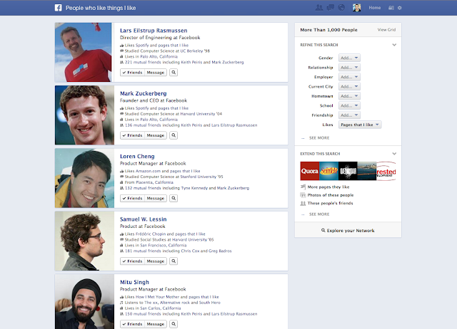 Facebook introduces Graph Search