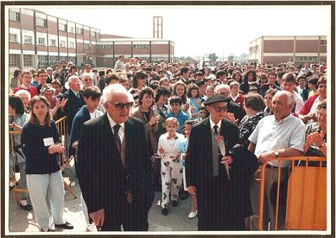 homenaje a Ochoa en Luarca 1987