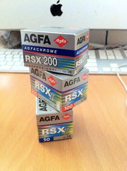 Agfa rsx II 50 正片負沖