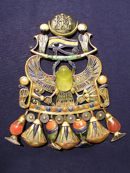 Scarab Amulet of Tutankhamun