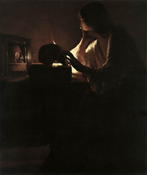Georges de La Tour - The Repentant Magdalen