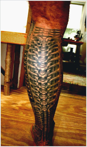 biomechanical tattoo ideas