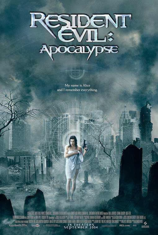Poster Of Resident Evil: Apocalypse (2004) Full Movie Hindi Dubbed Free Download Watch Online At Alldownloads4u.Com