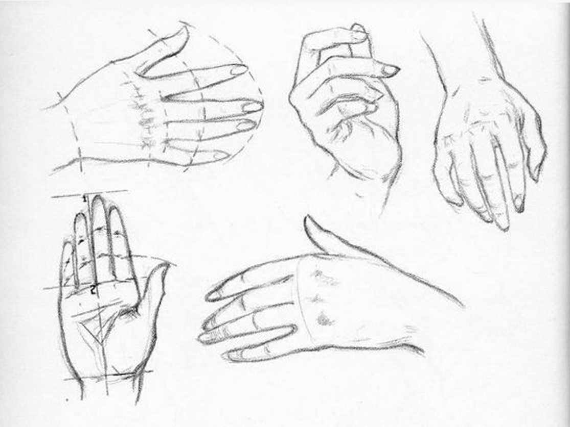 Hand Movements Drawing Drawing Your Own Hand
