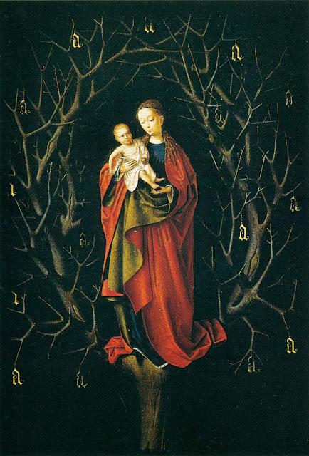 Petrus Christus - The Virgin of the Dry Tree