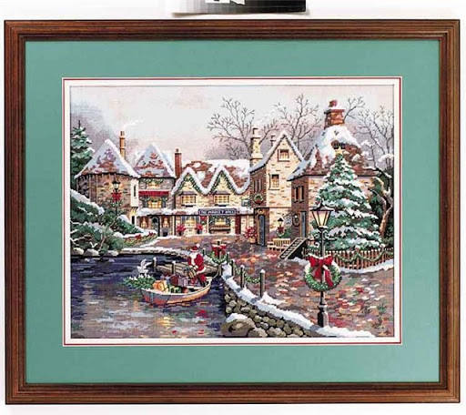 Christmas Cove cross stitch patterncross stitch pattern