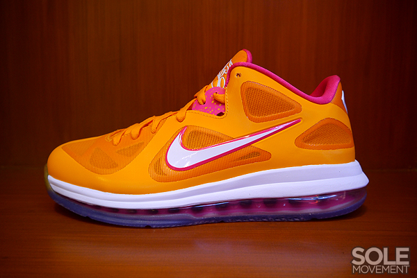 Detailed Look at Nike LeBron 9 Low 8220strikeBubbliciousstrike8221 FLORIDIANS