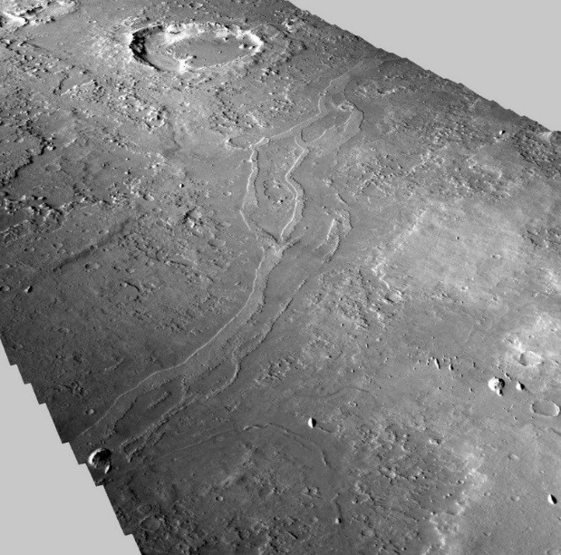 Astronomy: Fossilized rivers suggest warm, wet ancient Mars