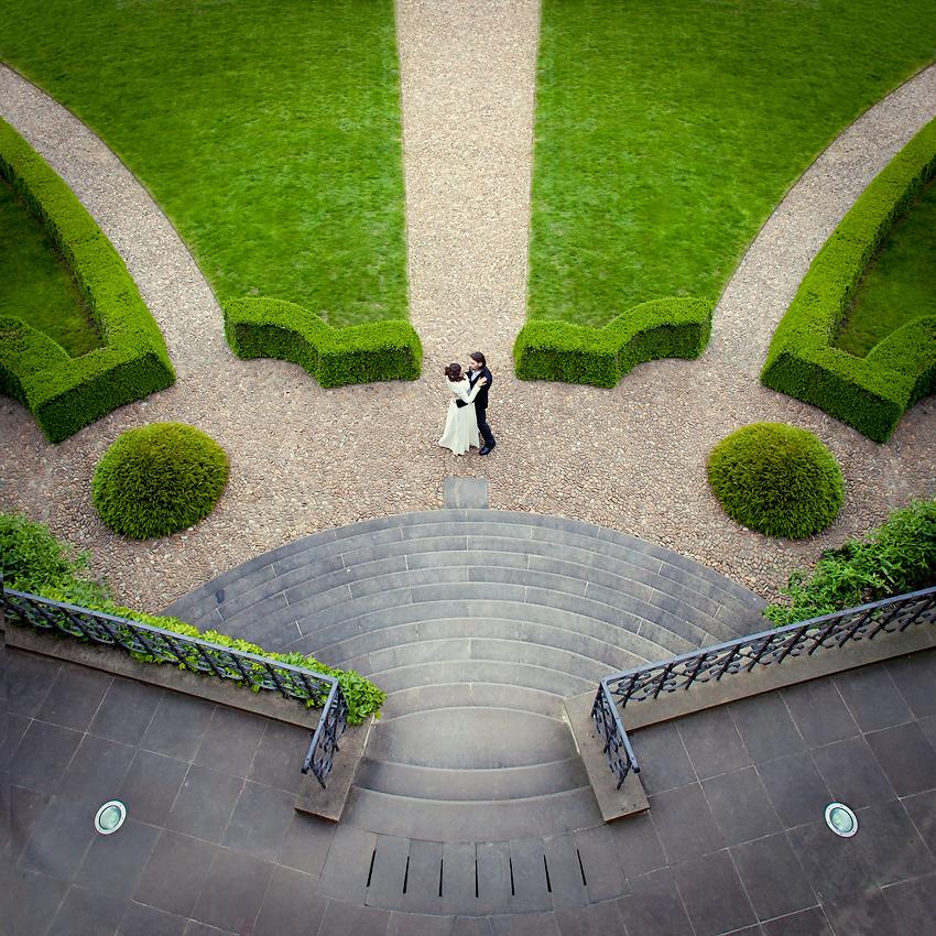 Вртбовские сады - свадьбная фотосъемка