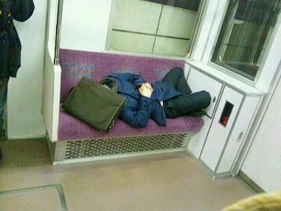 大胆な乗客@東急電鉄