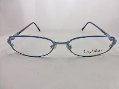 Blue Designer Eyeglass Frames : Byblos Eyeglasses Blue Designer frame. Eyeglasses frame ...