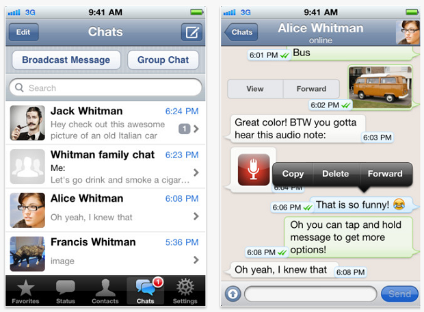 WhatsApp iPhone Free Download