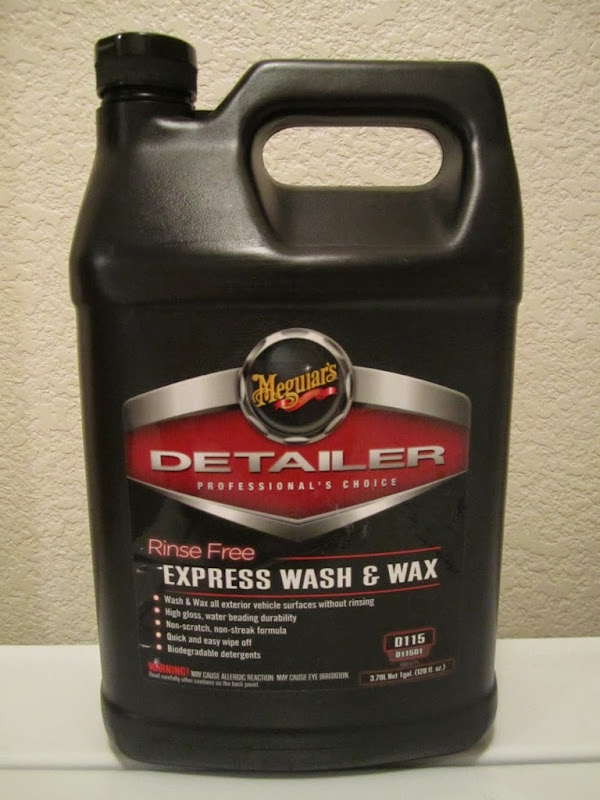 review how to meguiar 39 s d115 rinsefree express wash and wax. Black Bedroom Furniture Sets. Home Design Ideas