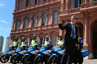 """El ministro del Interior y Transporte, Florencio Randazzo, presentó este mediodía el operativo """"Verano 2015"""" que la cartera desplegará este verano en las rutas y los principales puntos turísticos de Argentina."""