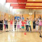 Tennisaktion in der Volksschule Hötting