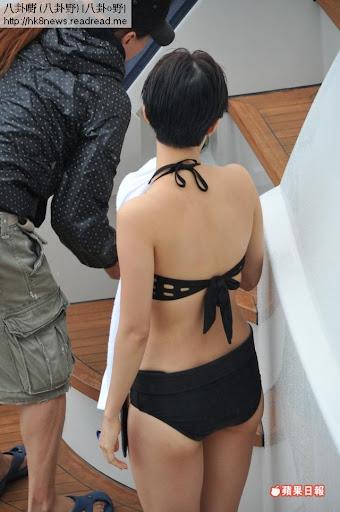 王君馨《法網囂雄》拍攝比堅尼戲份