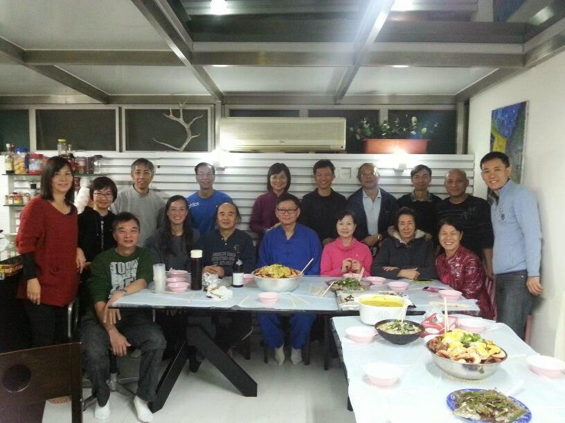 2014甲午年學員 2014甲午年新春聚餐