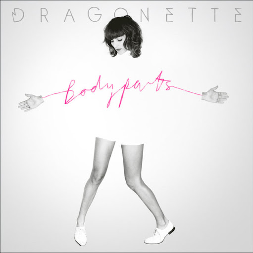 Dragonette Bodyparts album cover