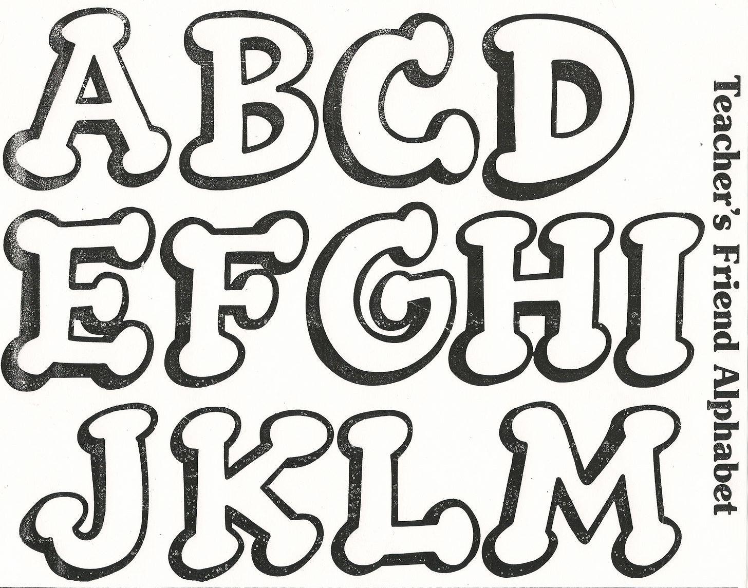 Letras cursivas grandes para imprimir images for Poster de pared grandes