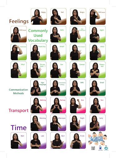 Poster of Hong Kong Sign Language