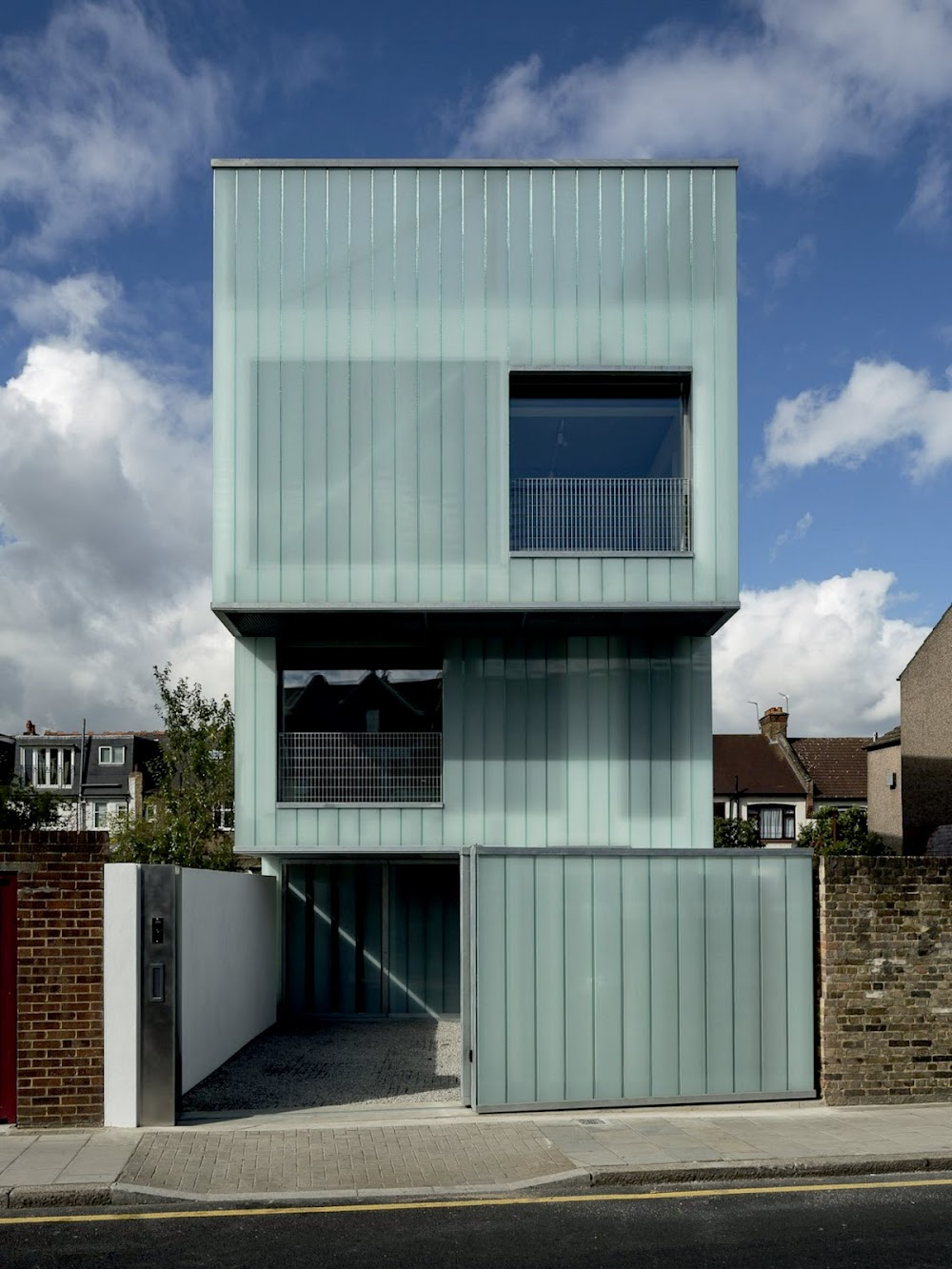 A379, Plymouth, Devon Pl8, Regno Unito: Slip House by Carl Turner Architects