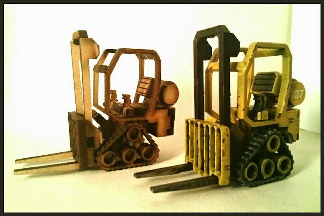 Toro mecánico industrial escenografía 28 mm