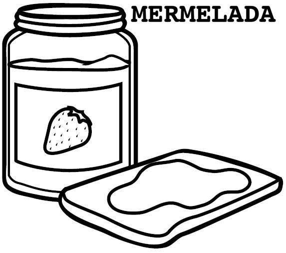 Strawberry Jam - free coloring pages