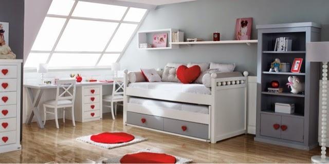 Tipos de camas para dormitorios juveniles for Camas individuales juveniles